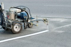 manual spray marking machine for parking layout